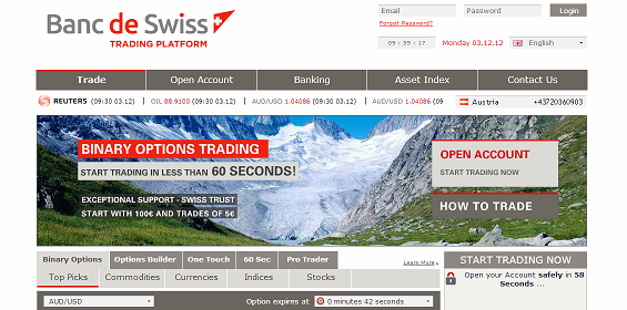 Binary options banc de swiss steuern